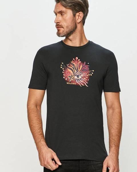 Černé tričko Volcom