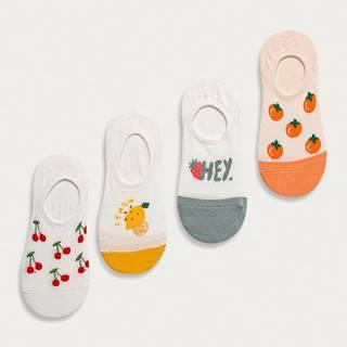 Answear Lab - Kotníkové ponožky (4-pack)