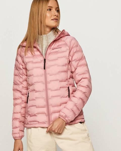 Růžová bunda Peak Performance