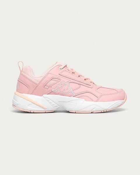Růžové boty Kappa