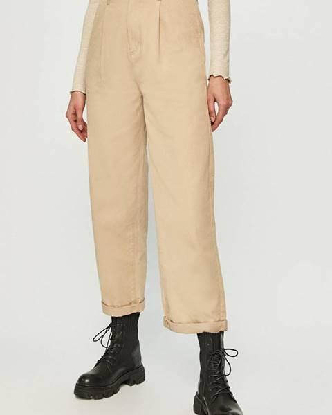Béžové kalhoty Brixton