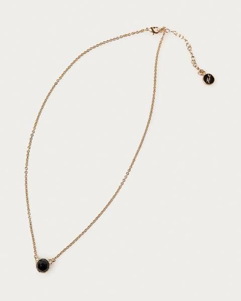 Zlatý náhrdelník karl lagerfeld