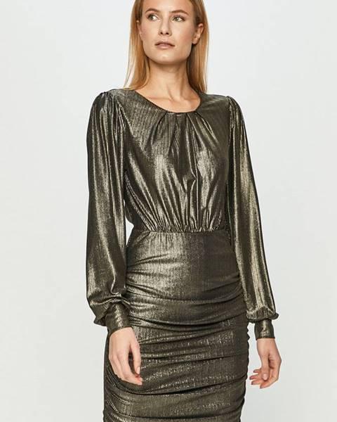 Zlaté šaty jacqueline de yong
