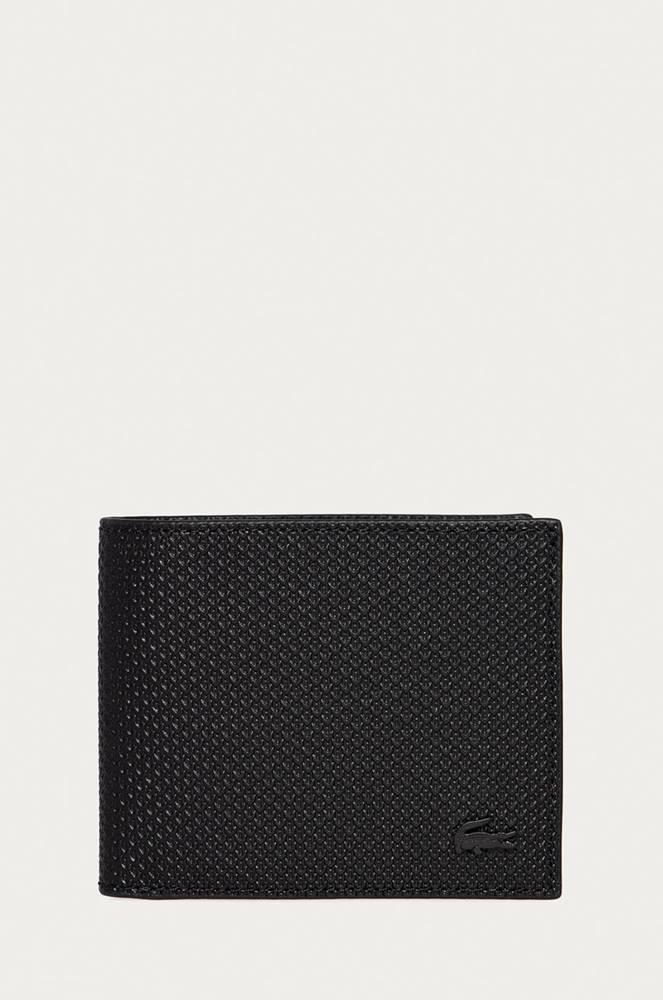 lacoste Lacoste - Kožená peněženka