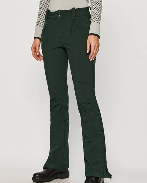 Zelené kalhoty columbia
