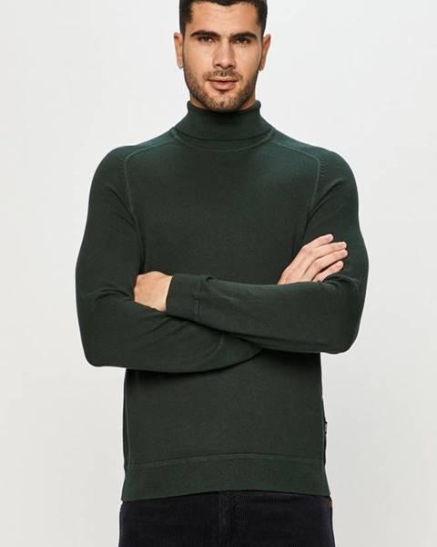 Zelený svetr only & sons
