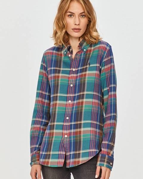 Vícebarevný top Polo Ralph Lauren