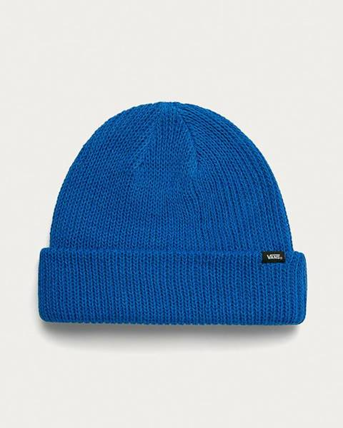Modrá čepice vans