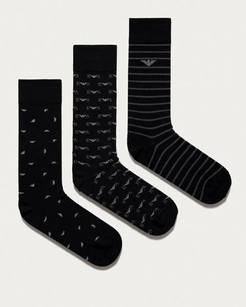 Černé spodní prádlo Emporio Armani