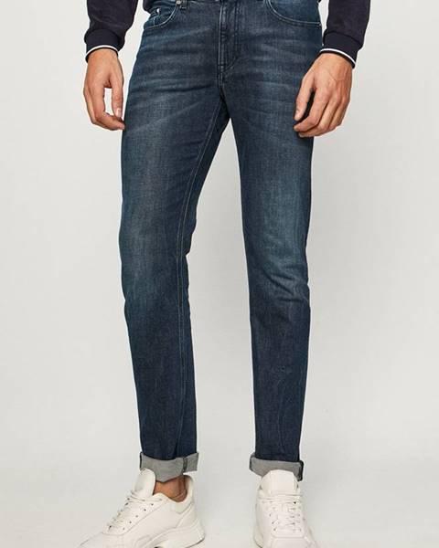 Modré kalhoty karl lagerfeld