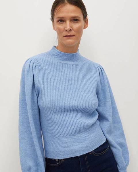 Modrý svetr Mango