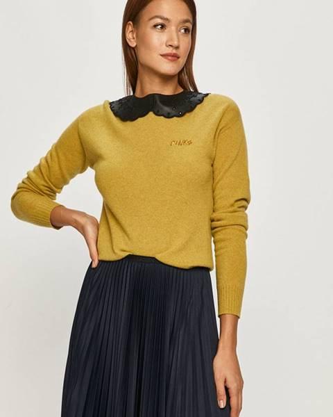 Žlutý svetr Pinko