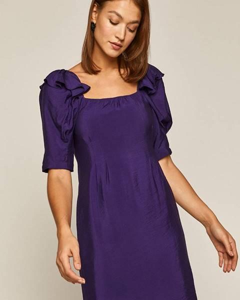 Fialové šaty MEDICINE