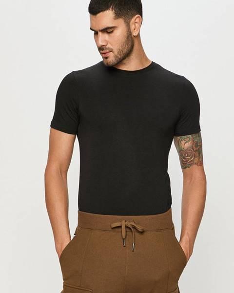 Černé tričko Resteröds