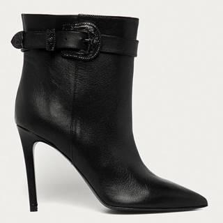 Patrizia Pepe - Kožené kotníkové boty