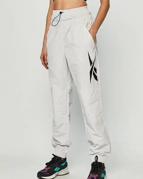 Bílé kalhoty reebok
