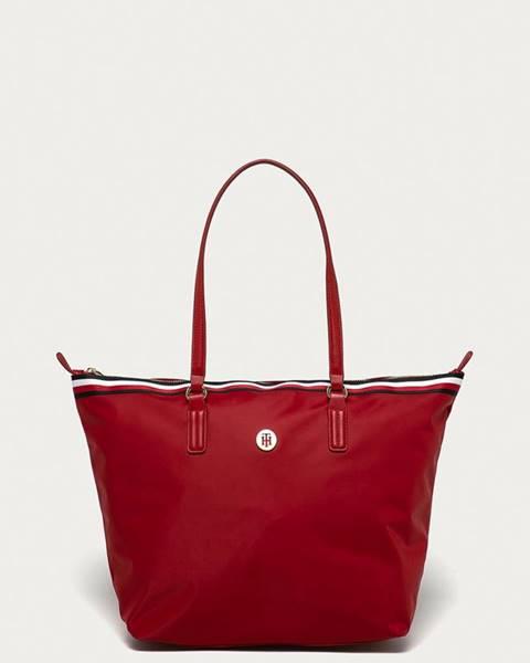 Červená kabelka tommy hilfiger
