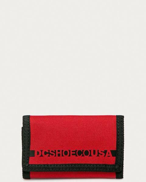 Červená peněženka DC