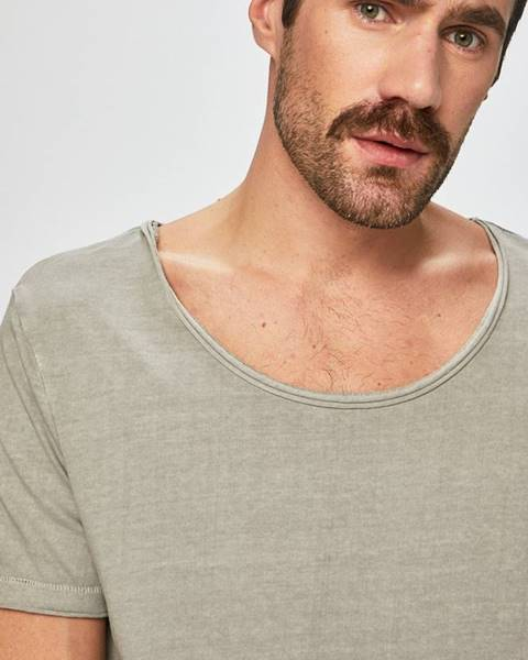 Šedé tričko MEDICINE