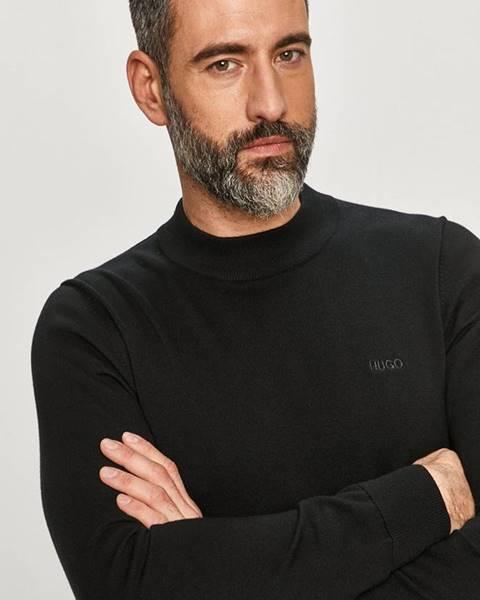 Černý svetr HUGO