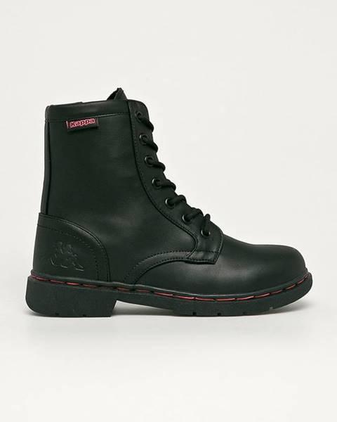 Černé boty Kappa