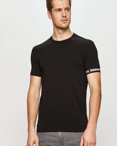 Černé tričko DSQUARED2