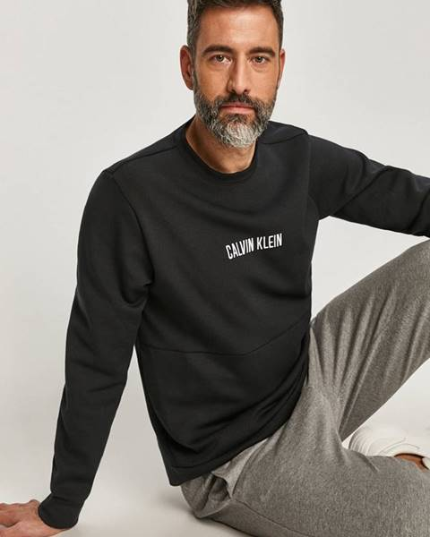 Černá mikina Calvin Klein Performance