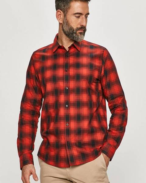Červené tričko HUGO
