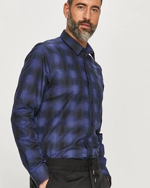 Modré tričko HUGO