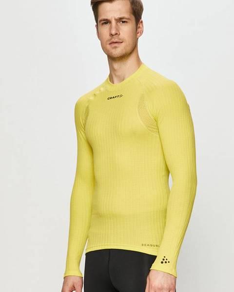 Žluté tričko Craft