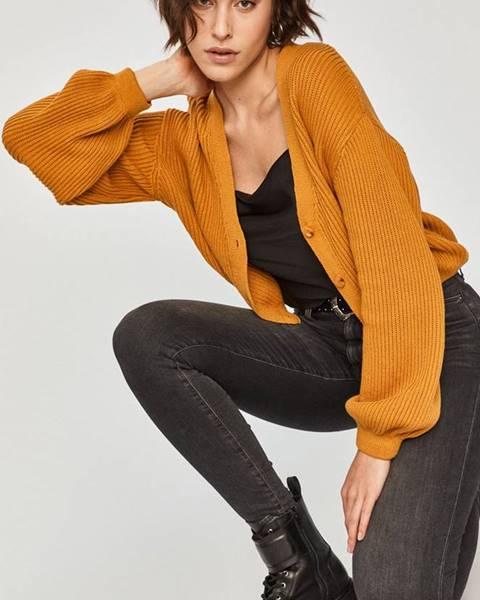 Žlutý svetr Answear Lab