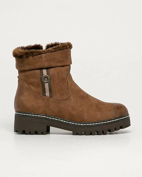 Hnědé boty s.oliver