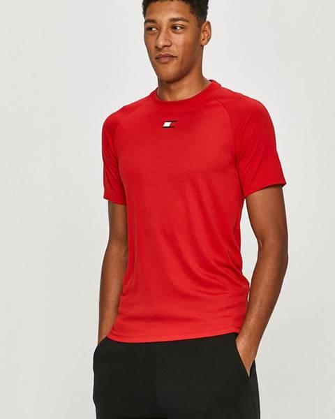 Červené tričko Tommy Sport