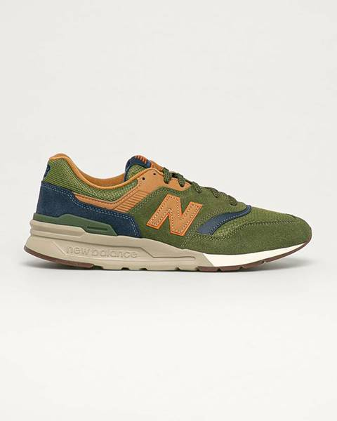 Zelené boty new balance