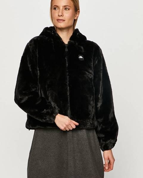 Černá bunda Kappa