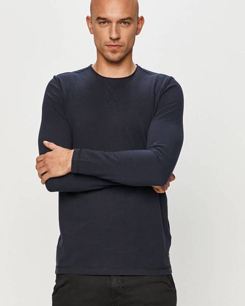 Modré tričko Mustang