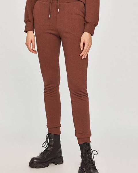 Hnědé kalhoty Answear Lab