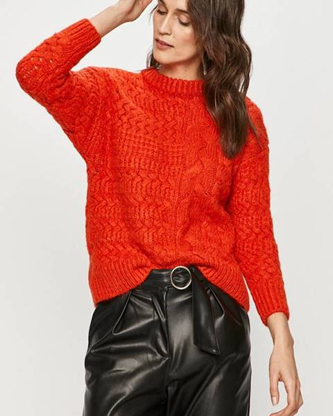 Červený svetr Answear Lab