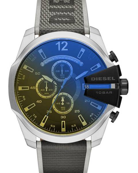 Stříbrné hodinky Diesel