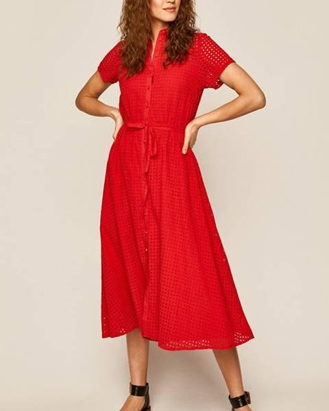 Červené šaty MEDICINE