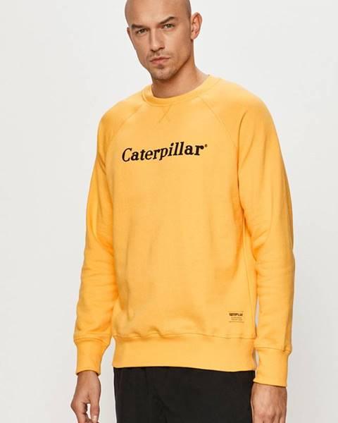 Žlutá mikina Caterpillar