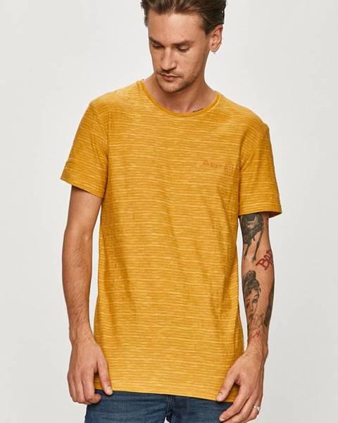 Žluté tričko quiksilver
