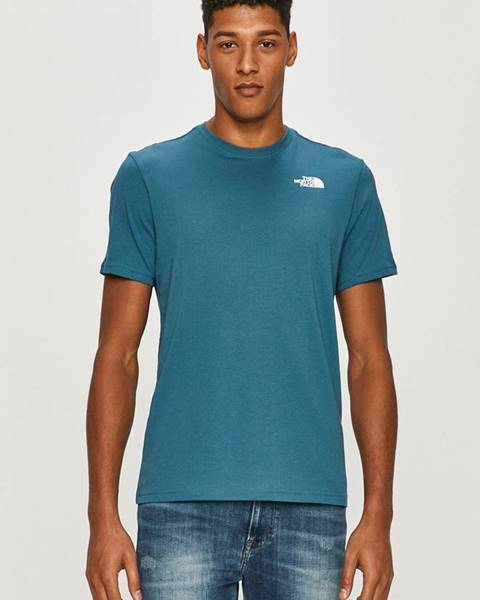Fialové tričko The North Face