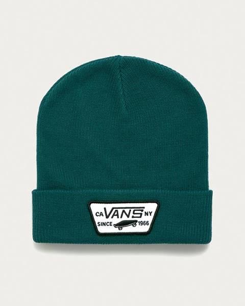Zelená čepice vans