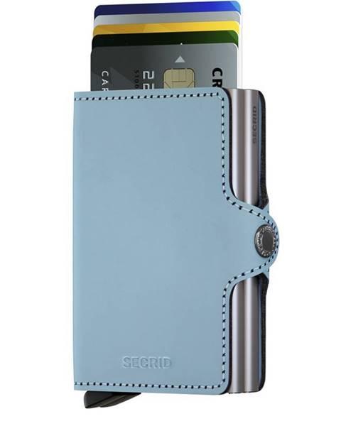 Modrá peněženka secrid