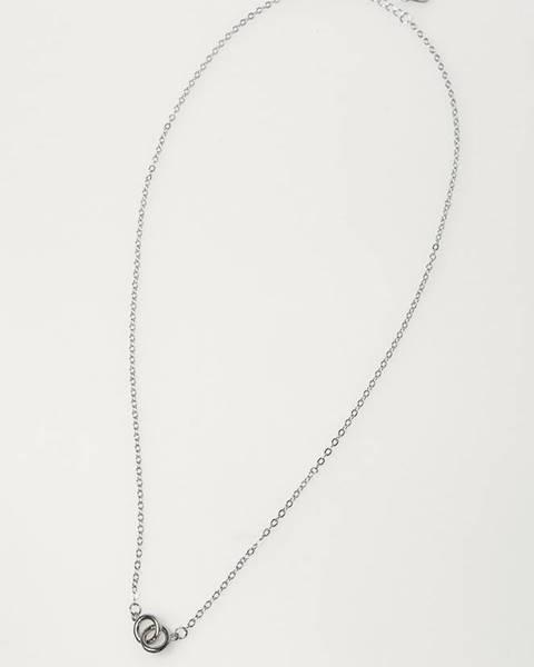Stříbrný náhrdelník Answear Lab