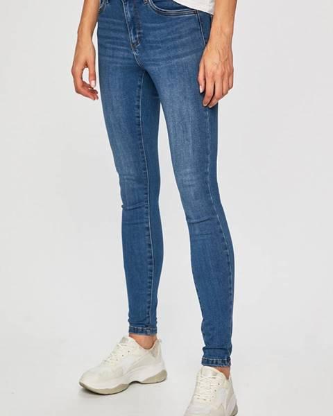 Modré kalhoty vero moda