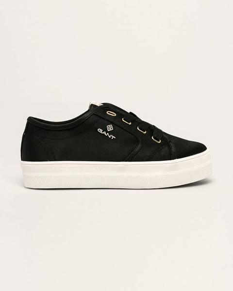 Černé boty gant