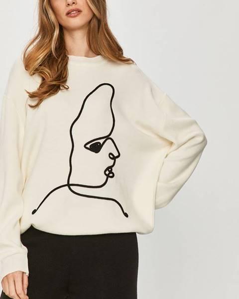 Bílý svetr Answear Lab