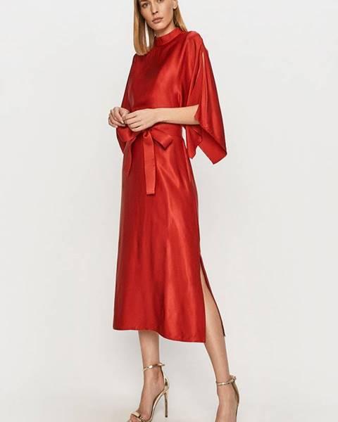 Červené šaty HUGO